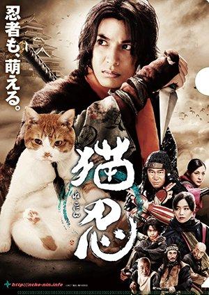画像2: 送料無料!映画「猫忍」パンフレット+クリアファイルセット